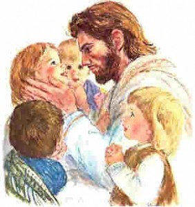 Jesus lieks the little children